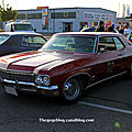 La chevrolet impala 2door hardtop coupé de 1970 (rencard burger king mai 2011)