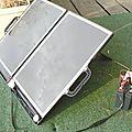 Un algérien obligé de céder son invention : la «valise solaire» ou l'autre victoire allemande.
