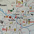 Collection ... affiche normandie / bassin parisien