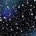 Les étoiles dans le ciel