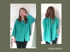 blouse turquoise 3