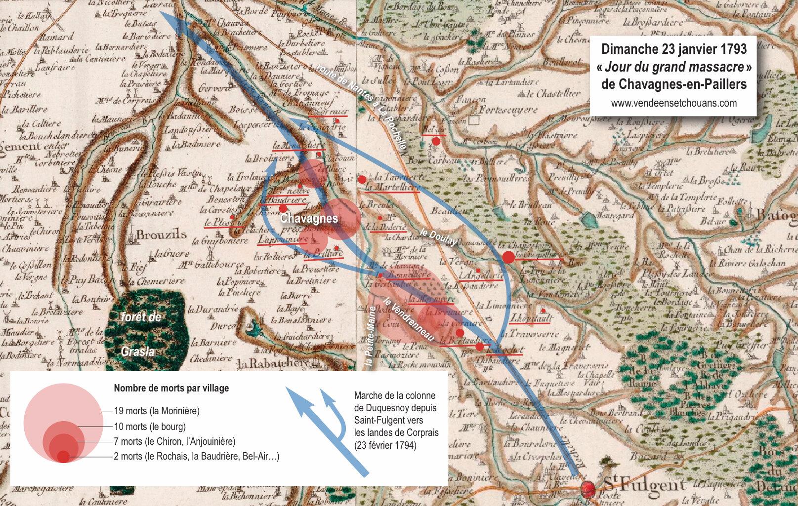 23 février 1794, « Jour du grand massacre » de Chavagnes