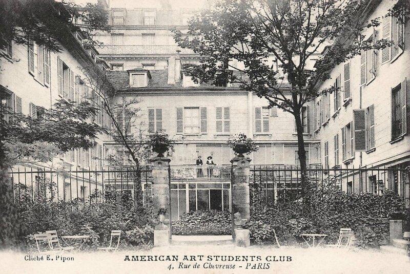 Home américain rue de Chevreuse