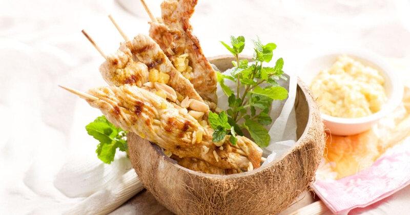 Marinade à l'ananas (porc, poulet, dinde)