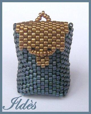 sac à dos bleu bronze 1