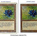 Black Lotus Altered Restaured