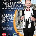 Mister National 2016 - Raphaël Lavigne