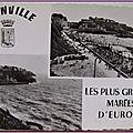 Granville - les plus grandes marées d'Europe