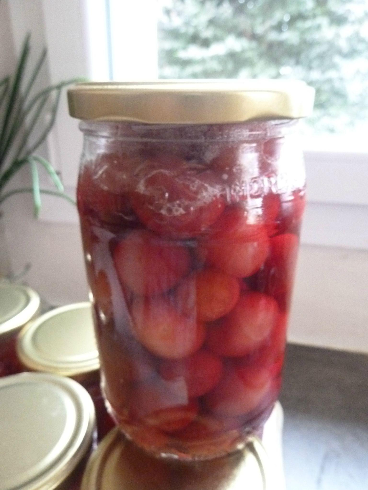 cerises au sirop léger-http://passionpotager.canalblog.com