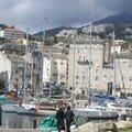 CORSE : Le vieux port de Bastia