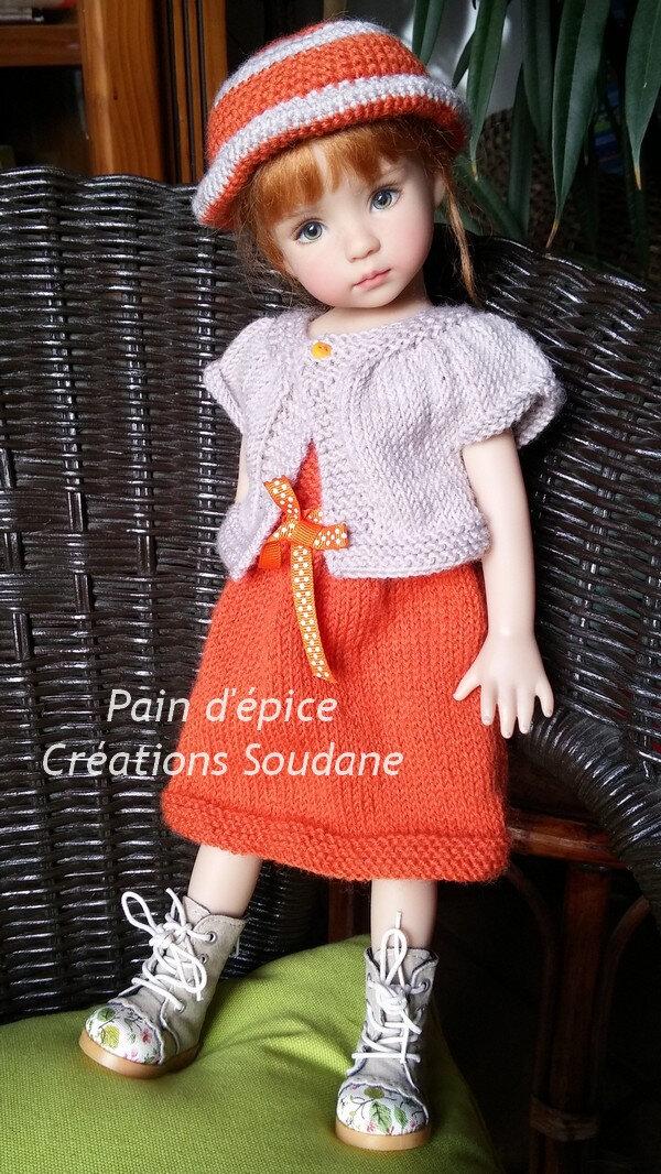 Nouvelle tenue pour Little Darlings et autres poupées 30-35 cm