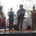 SIKINIS à Folleville août 2011 Spectacle Shéhérazade et le Troubadour