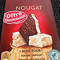 Test tablette de chocolat côte d'or nougat