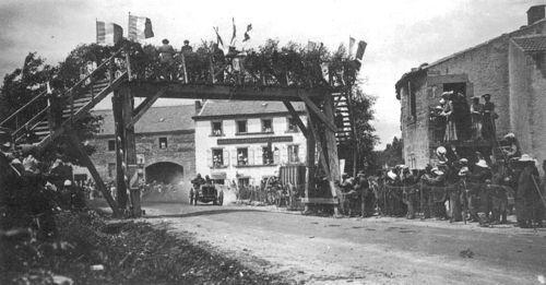 1905 gordon bennett trophy, circuit d'auvergne - léon théry (richard-brasier 4-cyl 11,3-litre 96hp) 1st 1