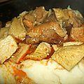Goulash de restes de barbac