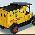 Y-12 Ford Model T Colmans Mustard A 2