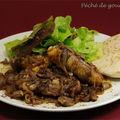 Poulet rôti aux oignons et au sumac