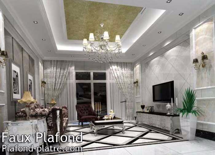 Plafond / design pour pose de faux plafond en perfection - Faux ...