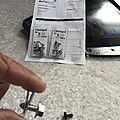 Montage du cache protection moteur / boite audi