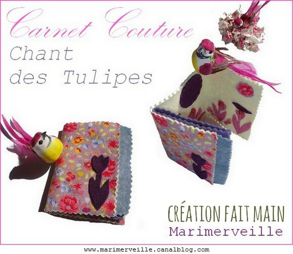 carnet couture chant des tulipes