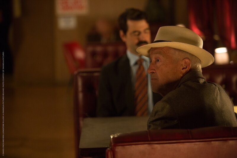 5 -® David Lynch and Ron Livingstone in LUCKY, a Magnolia Pictures release