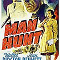 Man hunt, de fritz lang