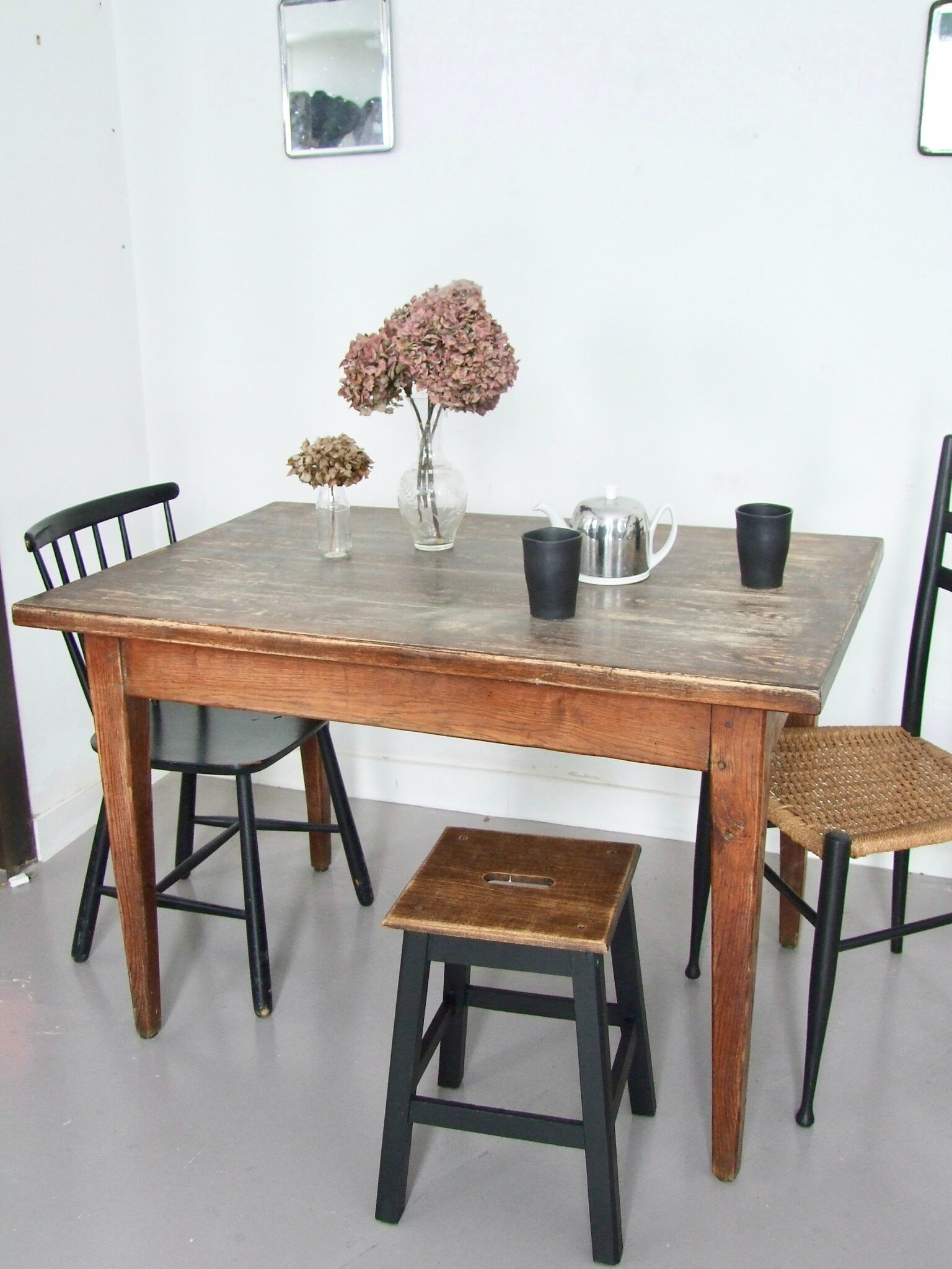 TABLE ANCIENNE BOIS MASSIF Cosy