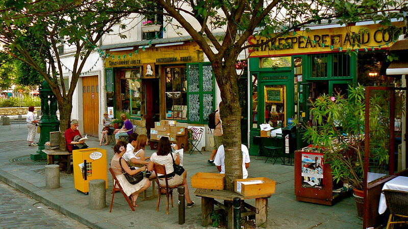 Librairie Shakespeare and co.