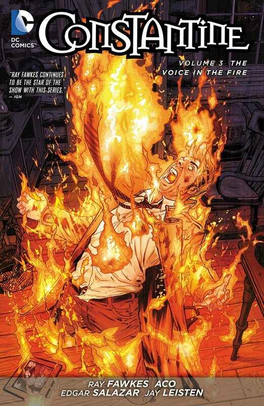 constantine vol 3 the voice in the fire TP