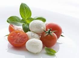 tomate mozza basilic