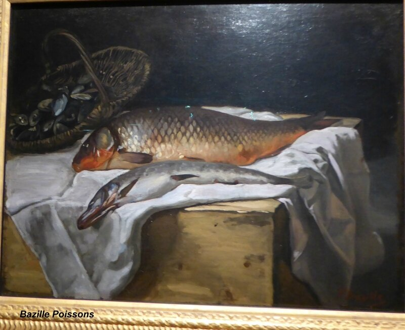 Bazille Poissons