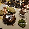 Tournedos rossini, purée de salsifis