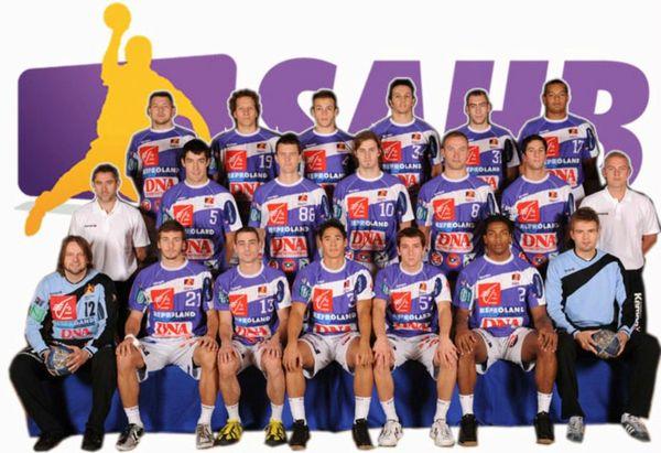 200809 Equipe SAHB 2008 2009