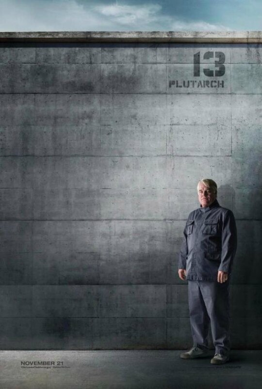 Plutarch poster Mockingjay Part 1