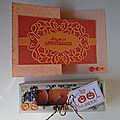 Atelier carte à plis et boîte à bougies