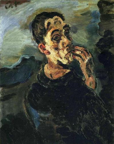 Kokoschka - Autoportrait - 1919
