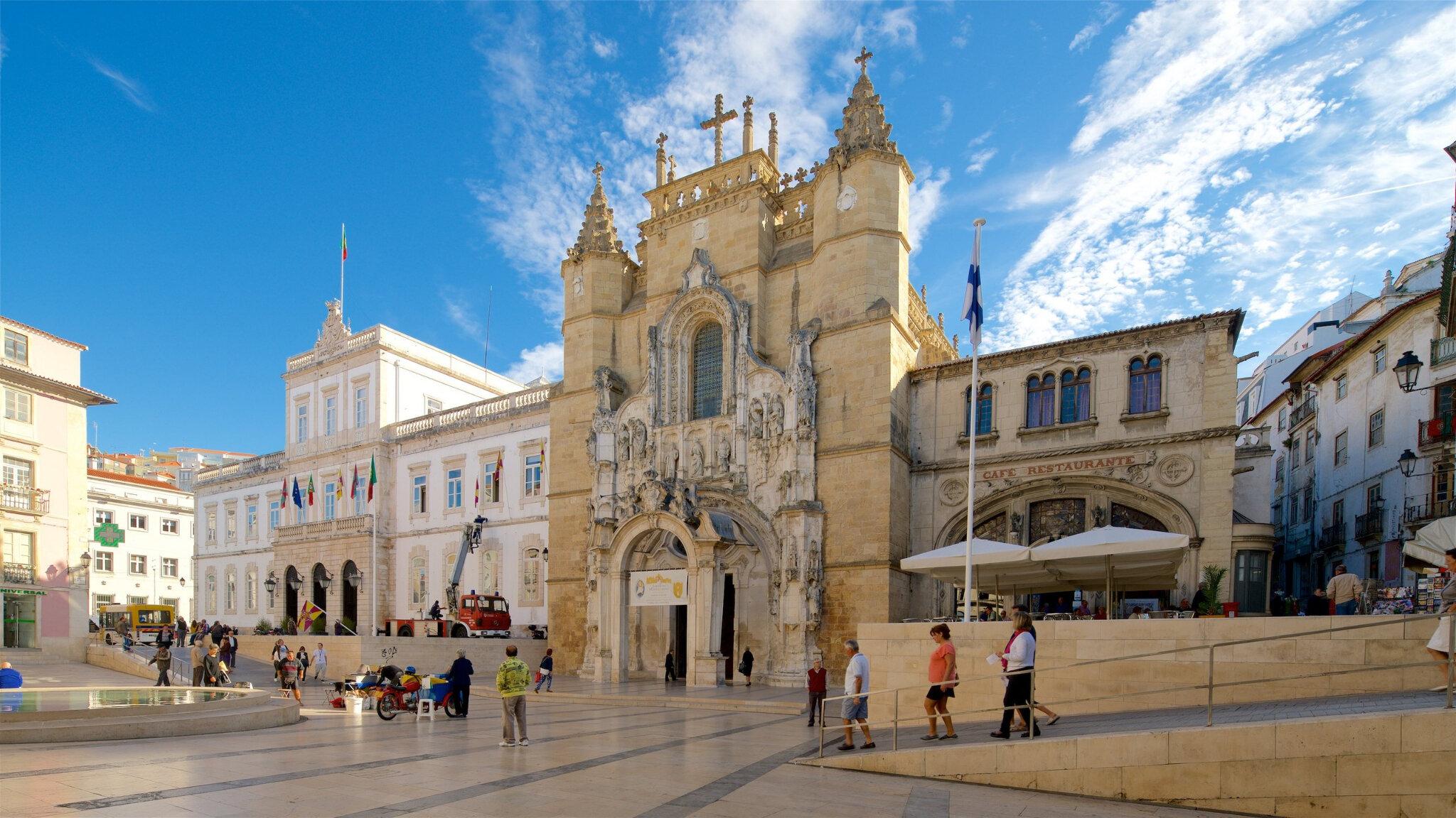 Le monastère de Santa Cruz, à Coimbra