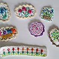 P'tites broches au crochet ;o)