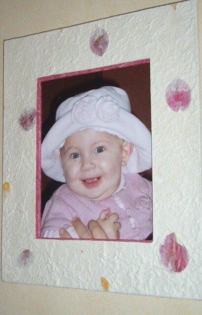 Une si jolie photo pour une belle petite-fille !