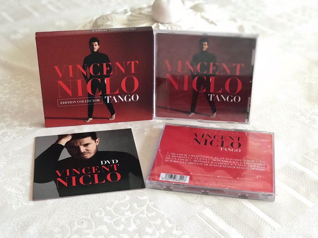 """""""Monsieur Gardel"""" la chanson composée par Pascal Obispo sur le nouvel album de Vincent Niclo"""