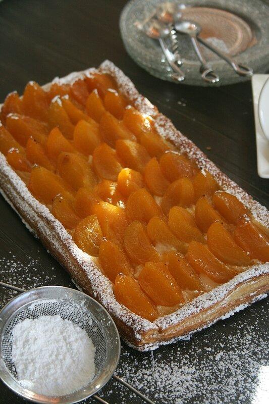 Tarte fine à l'abricot - Minouchka 1
