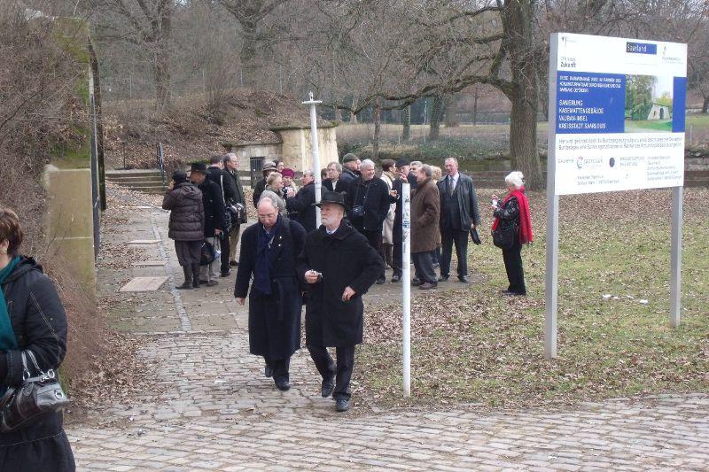 Les Académiciens dans l'Ile Vauban