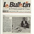 Article Bulletin du 11 mai 2010