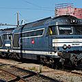 BB 67607 bleue (+67489 bleue), dépôt de Bordeaux