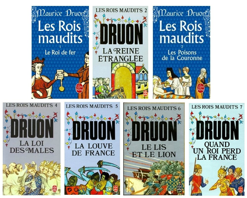 """Résultat de recherche d'images pour """"les rois maudits roman chronique"""""""