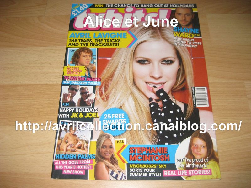 TV Hits Magazine (juillet 2008)