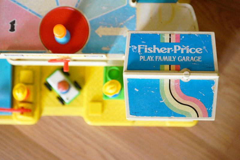 Garage Fisher Price 1