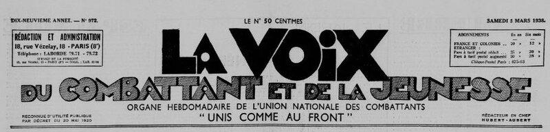1938 le 5 mars La voix du combattant_1