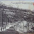 Besançon - Taragnoz et la citadelle - datée 1914