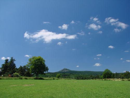 2008 07 04 Le Lizieux, et un ciel bien bleu avec quelques petit nuages